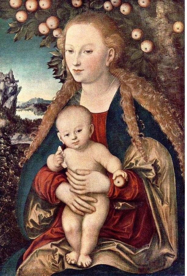 frutos da sabedoria_Ave Maria e Jesus